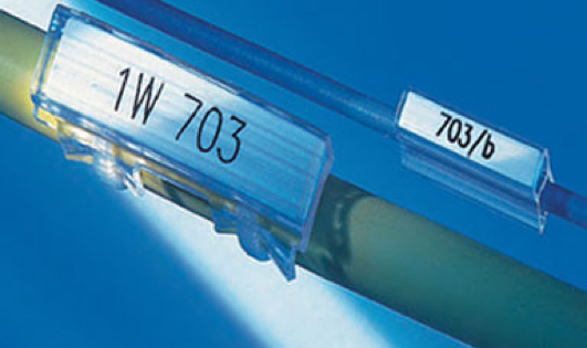 Single wire and conduit labelling